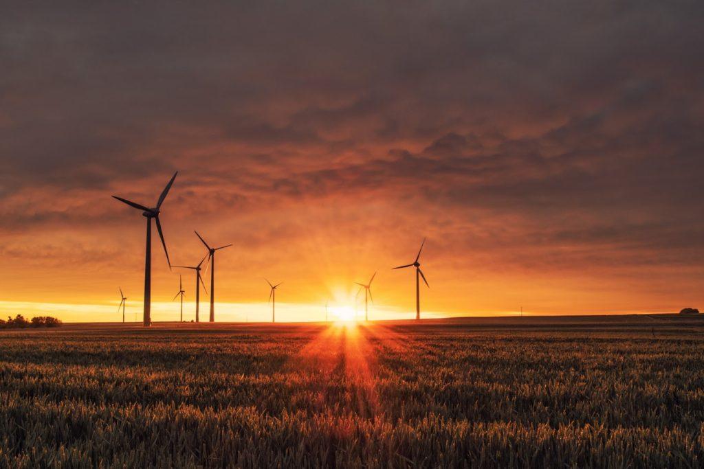 Wind Turbine energy vault