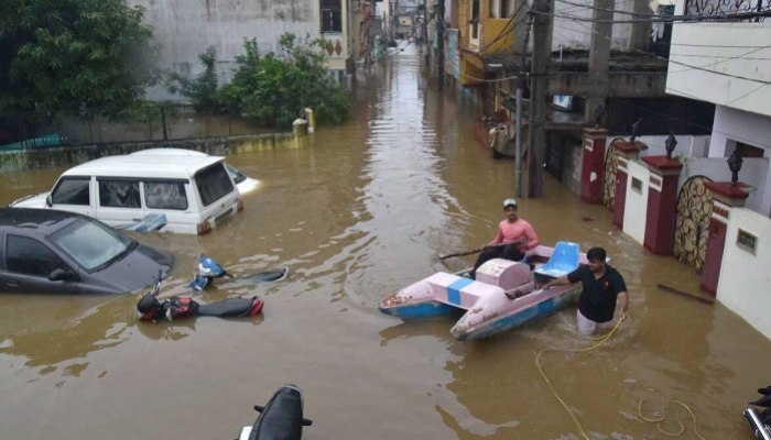 Hyderabad floods